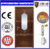 Porte populaire chaude de bureau de porte en bois noire classique