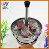 Wasser-Rohr-Kohlenstoff-Filterglocke-Halter-Holzkohle-Filterglocke-Huka-Set