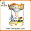 Máquina de juego de niños Merry Go Round Cabalgata infantil Carrusel de juegos