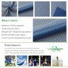 100%poliéster de malla de fútbol para tejido Sportwear