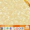 Telha de assoalho de pedra de cristal dourada de mármore lustrosa super do olhar K (JK8323C)