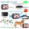 2g de GEO-Fence rastreador GPS portátil con collar para gatos/perros/Pet D69