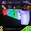 구부려진 바 카운터를 바꾸는 LED 가구 플라스틱 색깔