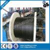 corde de fil d'acier de fil de câble de 1X9 7X19 6X19 1X19 7X7