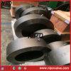 Único tipo de aço forjado válvula do balanço da placa de verificação da bolacha