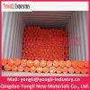 Bâche de protection durable orange de tissu de PE de fournisseur de la Chine