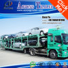 2 차축 6units Frame Structure Car Truck Semi Trailer