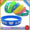 Wristband poco costoso del silicone di stampa di promozione (TH-566)