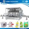 Machine de remplissage liquide de mise en bouteilles de bouteille de shampooing cosmétique automatique Chine