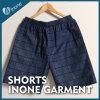 Inone 090 Mens nada Shorts ocasionais da placa das calças curtas