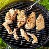 Maglia della griglia del barbecue del girarrosto del collegare dell'acciaio inossidabile dello strumento del BBQ