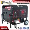 Hete Verkoop! Elektrische Start 15HP 6.5kv 6.5kVA 6.5kw Semi Closed Silent Gasoline Generator