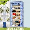O gabinete de dobramento portátil o mais popular do organizador do armazenamento da sapata de pano