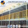 Plataforma resistente de la estructura de acero para el almacenaje