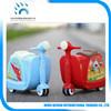 Conduite de gosses sur le bagage animal bon marché de valise de jouet