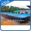Pool de cadre métallique de ce certificat populaire, équipement de piscine