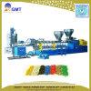 Recyclage du plastique PP/PE l'écrasement en deux étapes Pellet Making Machine