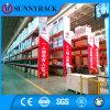 Cremalheira industrial resistente da pálete do armazenamento