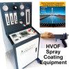 Термально машина Hvof брызга - оборудование для нанесения покрытия компонентов панелей солнечной силы/обрабатывать