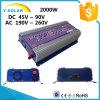 invertitore solare Ys-2000g-W-D del legame di griglia di energia eolica di CC di 2000W 46Hz-65Hz