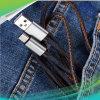 1m 2m beleuchtender Mikro-USB-Typ c-aufladenkabel-Dattel-Kabel, das schnell Dattel-Synchronisierung auflädt