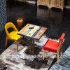 Mobilia durevole del ristorante impostata con la presidenza di legno stante in disaccordo di colori (SP-CT798)