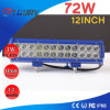 72W 12 pouces LED Light Work Phare Light Bar