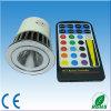 Luz do ponto do diodo emissor de luz do poder superior 12V RGB, projector do diodo emissor de luz de 5W RGB