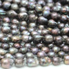 14-16mm Black Baroque Nucleated Pearls Wholesale Supplier、E190005