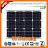 50W 156*156mono Módulo Solar de silício