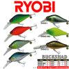 Attraits durs de pêche de Ryobi - mâle Shad