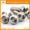 DIN7380 tornillo del acero inoxidable 316