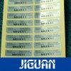 Zelfklevende Sticker van de Veiligheid van de Druk van de Douane van de anti het Vervalsen Stamper de Duidelijke