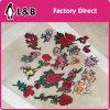 卸し売り新しいデザイン刺繍の熱い苦境パッチ