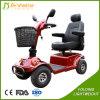 Quatro Rodas Motor eléctrico de segurança Scooter Deficiência de mobilidade