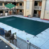 Бассейн заключение зимний бассейн безопасности крышки ячеистой сети