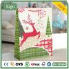 Бумажный мешок, мешок северного оленя рождества бумажный, мешок подарка бумажный