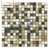 La alta calidad marrón natural mosaico de mármol romano cuadrado clásico mosaico de mármol