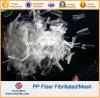 De chemische Vezel Fibrillated Microfiber van het Netwerk van de Vezel pp