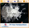 Волокно Microfiber сетки PP химически волокна Fibrillated