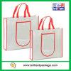 高品質および空想は印刷されたショッピング・バッグ、ロゴの卸売が付いているショッピング・バッグをカスタマイズした