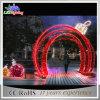 Les vacances arquent les lumières extérieures de décoration acrylique blanche de Noël de DEL