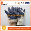 Ddsafety 2017 перчаток мебели белой подкладки задней части хлопка полной голубых