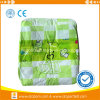 China Novo Item de Bebé PE Verde Fraldas para bebés da chapa traseira impressa