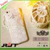Caja impresa TPU transparente del teléfono móvil del diamante para el iPhone 6s