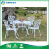 2015 최신 Sales Outdoor Cast Aluminum Furniture 또는 안뜰 Dining Set (FY-011ZX)