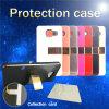 Segunda generación 2 en 1 PC + TPU caso del teléfono celular con el clip y la tarjeta de bolsillos (XSEH-002)