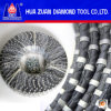 Stone Cutting를 위한 소결된 Diamond Wire Rope Saw