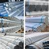 Tuyau en acier galvanisé pré aux échafaudages et de la construction/Tuyau en acier galvanisé
