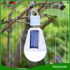 Recargable colgante Solar LED Lámpara de iluminación de emergencia AC DC 12W Bombilla LED E27 Base